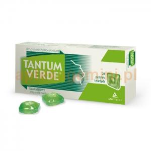 ANGELINI Tantum Verde, smak miętowy, 20 pastylek