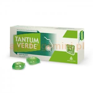 ANGELINI Tantum Verde, smak miętowy, 30 pastylek