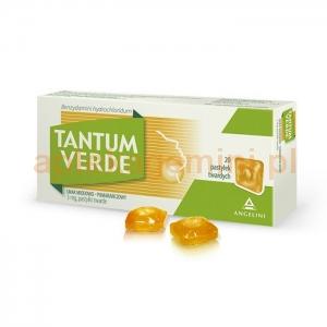 ANGELINI Tantum Verde, smak miodowo-pomarańczowy, 20 pastylek
