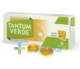 AZIENDE CHIM.RIUNITE ANGELINI FRANCESCO Tantum Verde Smak miodowo-pomarańczowy 30 sztuk