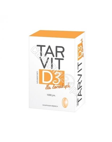 POLFA TARCHO Tarvit D3 dla dorosłych x 60 kaps