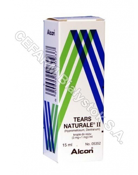 ALCON Tears naturale II krople do oczu 15 ml