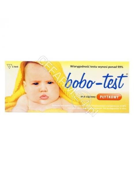 DIAGNOSIS Test ciążowy bobo-test płytkowy x 1 szt