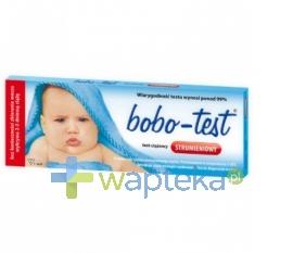 BIOMERICA Test ciązowy BOBO-TEST strumieniowy 1 sztuka