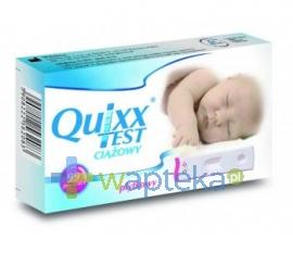 BLUE CROSS BIO-MEDICAL Test ciążowy QUIXX płytkowy 1 sztuka