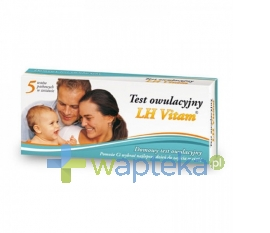 DIAGNOSIS S.A. Test owulacyjny LH Vitam 5 sztuk