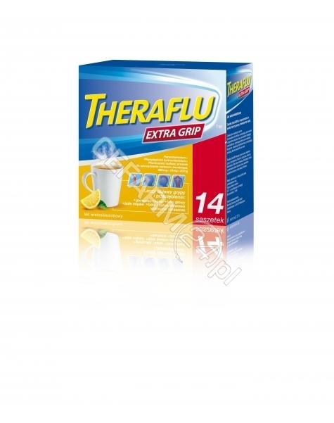 NOVARTIS Theraflu extra grip x 14 sasz