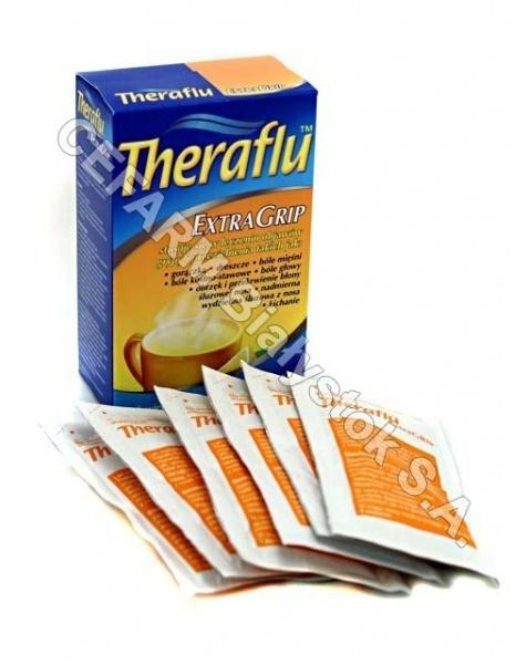 NOVARTIS Theraflu extra grip x 6 sasz