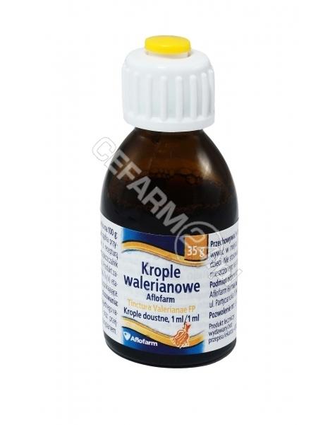 AFLOFARM Tinctura valerianae 35 g (krople walerianowe Aflofarm)