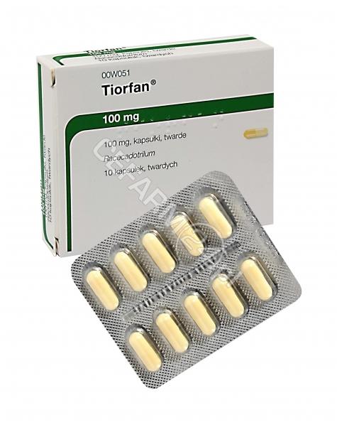 BIOPROJET Tiorfan 100 mg x 10 kaps