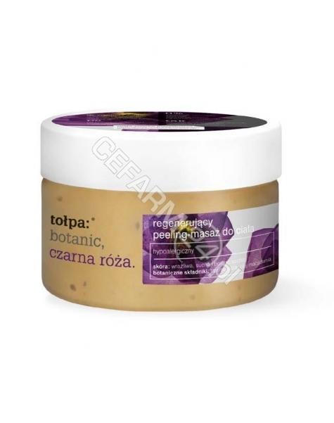 TORF CORPORA Tołpa Botanic Czarna Róża regenerujący peeling-masaż do ciała 180 g