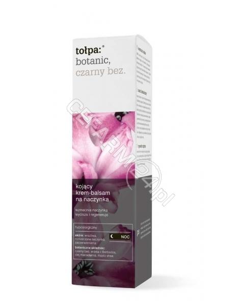 TORF CORPORA Tołpa Botanic Czarny Bez kojący krem-balsam na naczynka na noc 40 ml (data ważności <span class=
