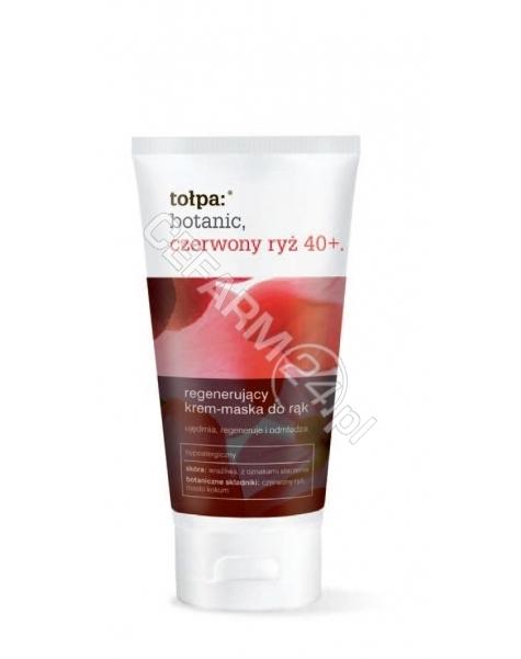 TORF CORPORA Tołpa Botanic Czerwony Ryż 40+ regenerujący krem-maska do rąk 75 ml