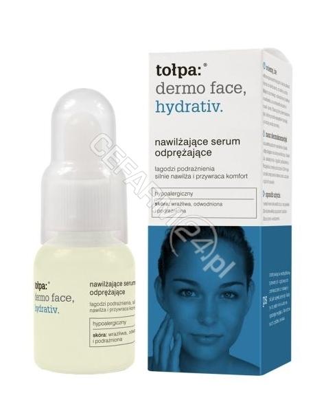 TORF CORPORA Tołpa dermo face hydrativ nawilżające serum odprężające 25 ml (data ważności 30.04.2016)
