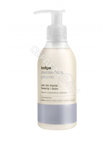 TORF CORPORATION (TOŁPA) Tołpa Dermo Face Physio Żel do mycia twarzy i oczu 195 ml