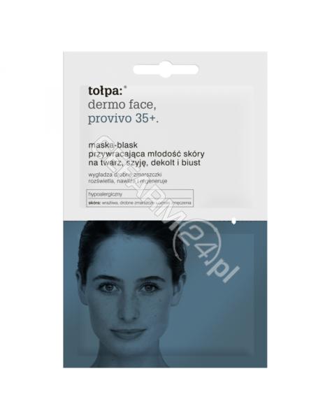 TORF CORPORA Tołpa dermo face provivo 35+ maska-blask przywracająca młodość skóry 2 x 6 ml