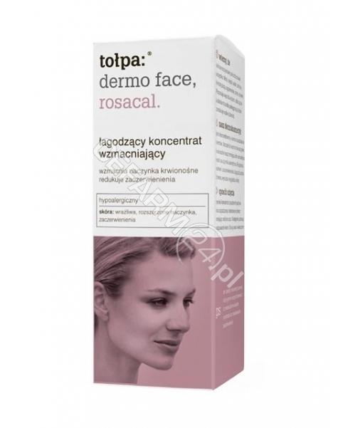 TORF CORPORA Tołpa dermo face rosacal łagodzący koncentrat wzmacniający 25 ml