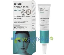 TORF CORPORATION (TOŁPA) Tołpa Dermo Face Sebio punktowy koncentrat korygujący niedoskonałości 10 ml