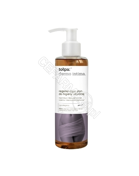 TORF CORPORA Tołpa Dermo intima regenerujący płyn do higieny intymnej 195 ml