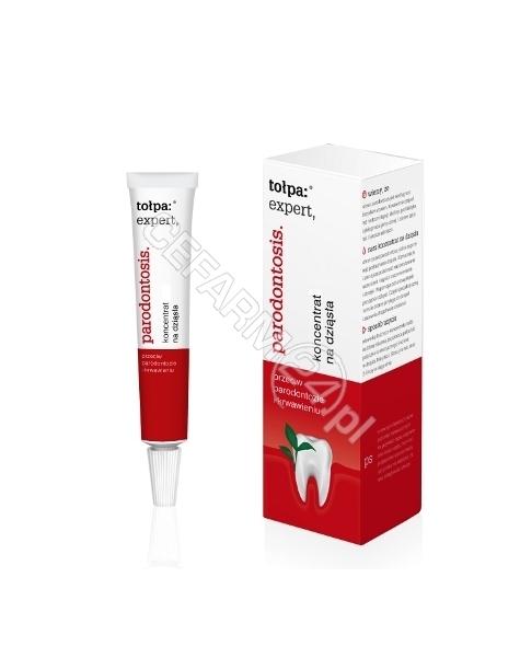 TORF CORPORA Tołpa expert parodontosis eco-koncentrat na dziąsła przeciw parodontozie i krwawieniu 8 g