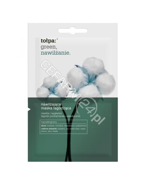 TORF CORPORA Tołpa green nawilżanie maska łagodząca 2 x 6 ml