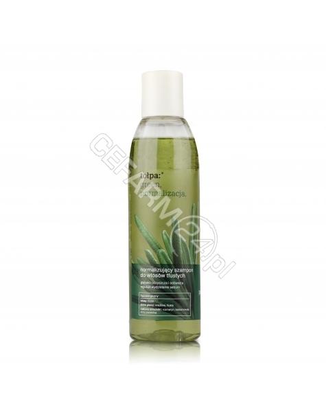 TORF CORPORA Tołpa green normalizujący szampon do włosów tłustych 200 ml