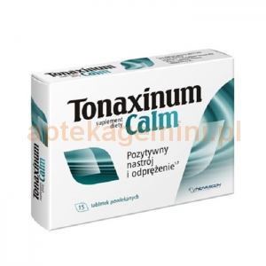 NOVASCON Tonaxinum Calm, 15 tabletek