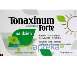 NOVASCON PHARMACEUTICALS SP. Z O.O. Tonaxinum Forte na dzień 30 tabletek