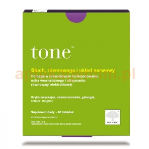 NEW NORDIC Tone, 60 tabletek