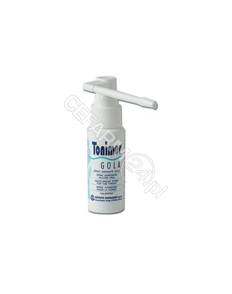 INSTITUTO GA Tonimer płyn nawilżający do gardła spray 15 ml