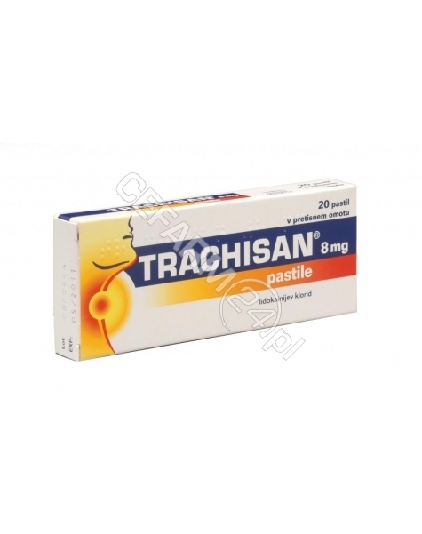 ENGELHARD Trachisan 8 mg x 20 pastylek