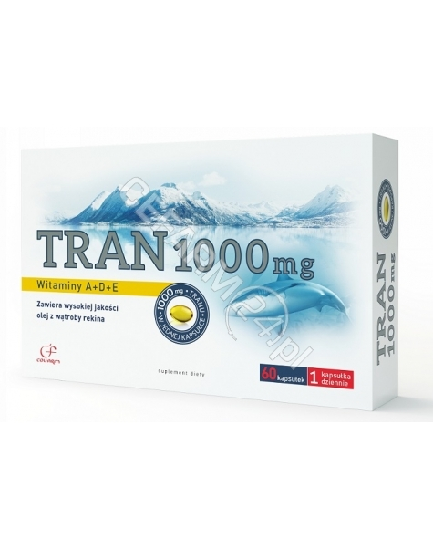 COLFARM Tran 1000 mg x 60 kaps