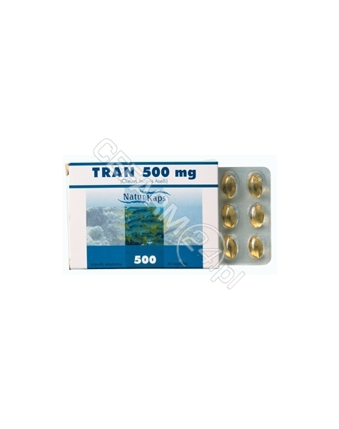 HASCO-LEK Tran 500 mg naturkaps x 60 kaps