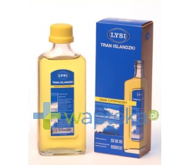 LYSI HF Tran Islandzki LYSI o smaku cytrynowym 240 ml