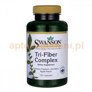 SWANSON Tri-Fiber complex, SWANSON, 100 kapsułek