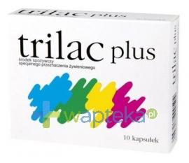 KROTEX Trilac plus, 10 kapsułek