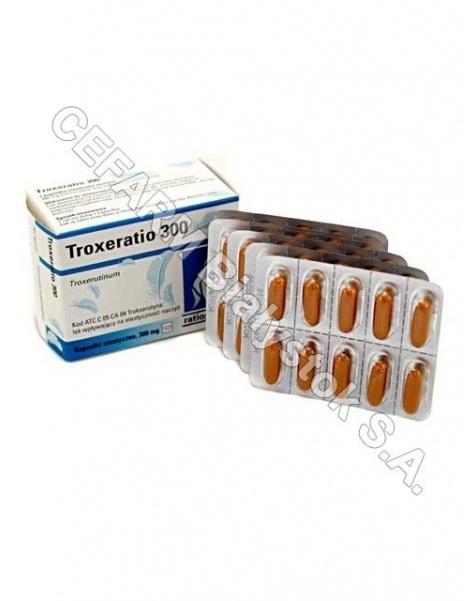 RATIOPHARM Troxeratio 300 mg x 50 kaps