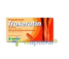 SYNTEZA SP. Z O.O. P.F.-CH. Troxerutin 200 Mg X 64 kapsułki