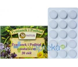 MEDICOFARMA SP. Z O. O. Tymianek i Podbiał (+ 20 ziół) 30 sztuk