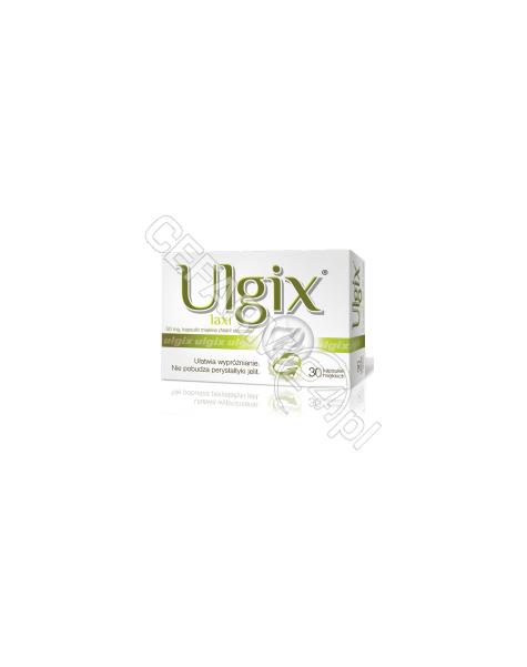HASCO-LEK Ulgix laxi 50 mg x 30 kaps (data ważności 30.04.2016)
