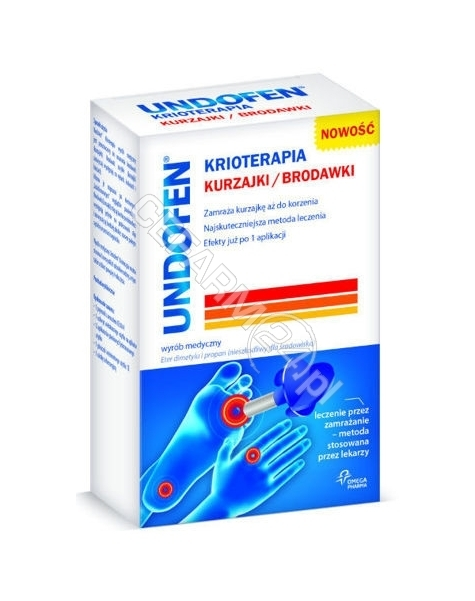 OMEGA PHARMA Undofen krioterapia 50 ml