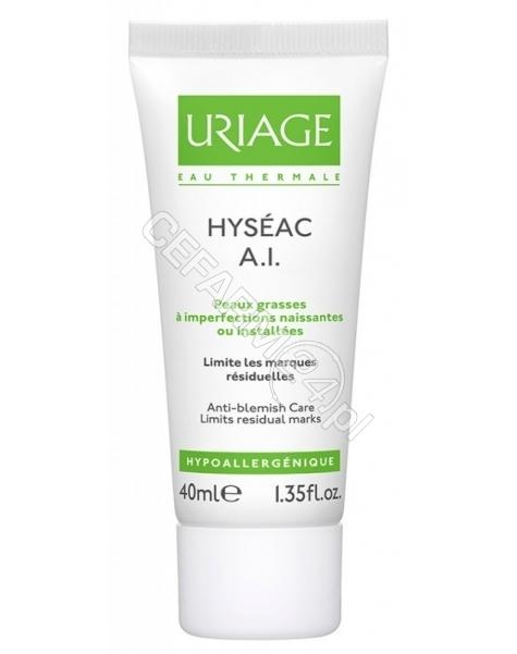 URIAGE Uriage hyseac AI krem zwalczający zapalne zmiany trądzikowe 40 ml