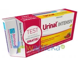 WALMARK SP. Z O.O. Urinal Intensiv 20 tabletek + test na infekcję dróg moczowych