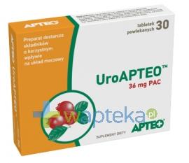 SYNOPTIS PHARMA SP. Z O.O. UroAPTEO 30 tabletek