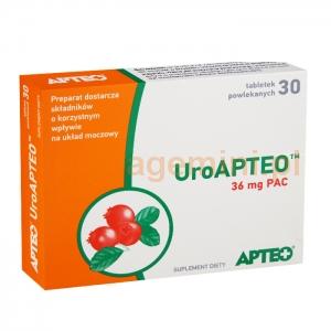 SYNOPTIS PHARMA UroAPTEO, Apteo, 30 tabletek