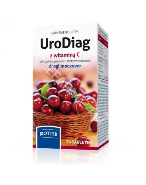 DIAGNOSIS Urodiag z witaminą c x 30 tabl
