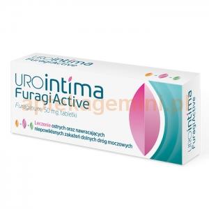 USP ZDROWIE UroIntima Furagi Active, 50mg, 30 tabletek