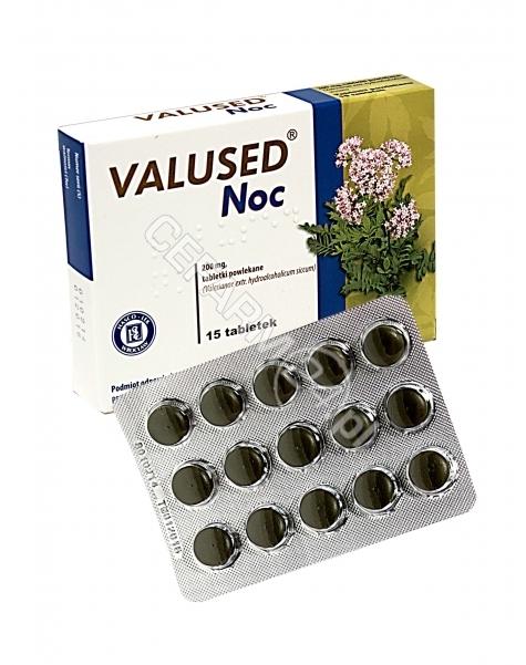 HASCO-LEK Valused noc 200 mg x 15 tabl powlekanych (data ważności <span class=