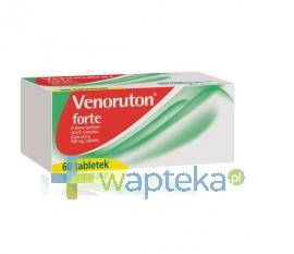 NOVARTIS CONSUMER HEALTH SA Venoruton forte 60 tabletek