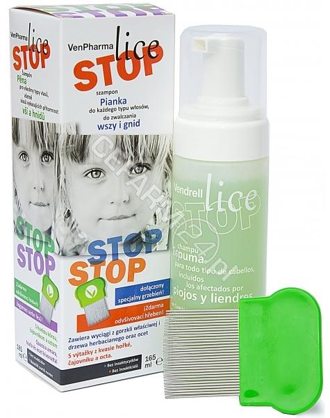 VENPHARMA Venpharma lice stop szampon przeciw wszawicy 165 ml (data ważności 31.05.2016)